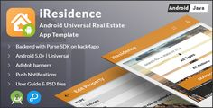 iResidence | Android Universal Real Estate App Template