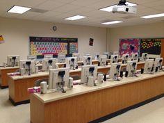 Creative computer lab design | Classroom Decor | Pinterest | Best ...