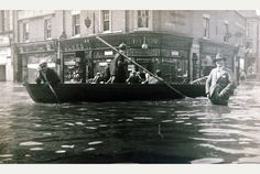 Nuneaton 1932 - The Nuneaton flood of 1932