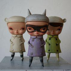 Kathie Olivas. Pop Surrealism. Toy Art.   http://circusposterus.com/