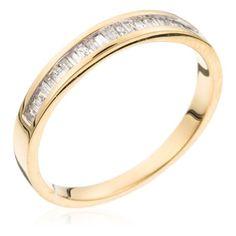 Yellow Gold Eternity Ring with Diamonds (0.20 ct) (DIAMANTA2 1058944)
