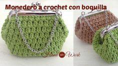 Tutorial como hacer monedero crochet con boquilla