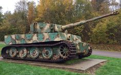 Tiger I at Vimoutiers, Normandy