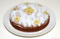 Torta di banane e cioccolato, scopri la ricetta: http://www.misya.info/2013/01/31/torta-di-banane-e-cioccolato.htm