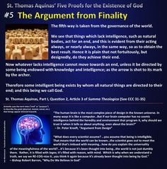 The Argument from Finality