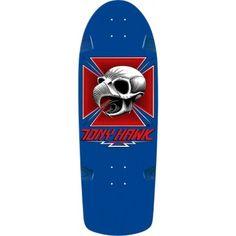 Bones Brigade Tony Hawk Skull Blue Deck