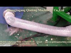 Qinfeng styrene foam EPS hot melting line melter compactor