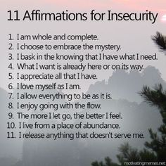 """It's easy to get caught up in irrational F.E.A.R (false evidence appearing real). These affirmations are designed to help us release the subconscious programming that makes up these """"what if?"""" worst case scenarios so that we don't let our minds get in the way of our own happiness."""