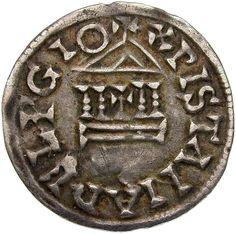 Fränkisches Reich. Ludwig der Fromme (814 - 840). Ø 1,94 cm 1,44 g. Silber.