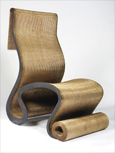 London Pappardelle chair (1992) by Ron Arad