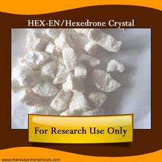 Buy HEX-EN/Hexedrone Crystal online at http://www.theresearchchemicals.com/new-products-7/hex-en-hexedrone-crystal.html for research.