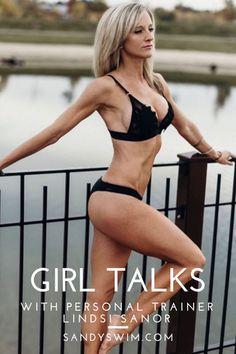 Girl Talks with Sandy Swim Ambassador Lindsi Sanor. Unleash your hidden power, and transform your life with Lindsi Sanor Fitness. Girl Talks, Janet Evanovich, Body Workouts, Transform Your Life, Body Image, Personal Trainer, Bikini Girls, Babys, Fit Women