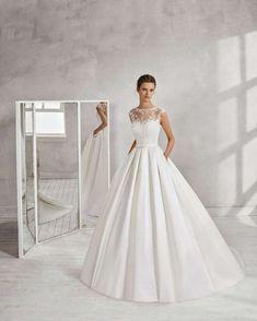 d5d0dc545c0e Luna Novias introduce le novità della sua collezione di abiti da sposa  2018