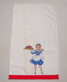 Vintage Towel Waitress Brings You Jello by unclebunkstrunk on Etsy