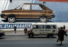 Ul. Ząbkowska, Warszawa 1982. Foto © Chris Niedenthal