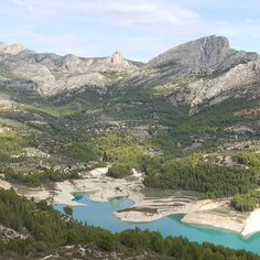 """""""Guadalest #guadalestvalley #holiday #mountain #highupinthesky #highup #sunshine #lovelyview #landscape #beautiful #scenery #turquoisewater #picturesque"""""""
