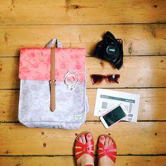 Herschel Supply: Travel essentials.