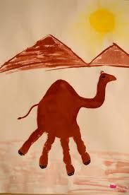 How to Make a Camel Handprint. Egypt Crafts, Eid Crafts, Painting For Kids, Art For Kids, Camel Craft, Ancient Egypt Lessons, Uae National Day, Desert Animals, Preschool Projects
