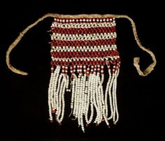 1800 - Islamic Antique Red & White Glass Beads Necklace Veil for a Yemeni Bride in Antiques, Antiquities, Islamic   eBay