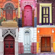 Doors by:  R1C1: @remifrancoeur1 R1C2: @lostinmaps R2C1: @design.junkie R2C2: @sebastien_ferrie R3C1: @guy_named_clark R3C2: @sergio_fabila  Congratulations!  Tag #windowsanddoorsoftheworld to be featured!