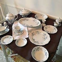 Christina Porcelain Bavarian Blue