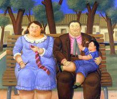 """Résultat de recherche d'images pour """"fernando botero una familia"""""""