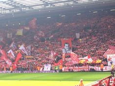 What a football club. The supporters today were fantastic. Liverpool has real history, Liverpool has a mighty future. Liverpool Kop, Liverpool Football Club, Match Of The Day, This Is Anfield, Best Football Team, Football Players, You'll Never Walk Alone, Walking Alone, One Team