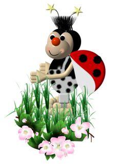 Божьи коровки — Yandex.Disk Gif Animé, Snowman, Disney Characters, Fictional Characters, Art, Beautiful Images, Butterflies, Art Background, Kunst