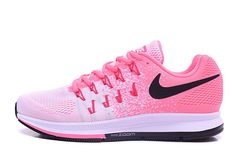 VERSATILE AND FAST The Nike Air Zoom Pegasus 33 Women's Running Shoe combines a classic look with responsive cushioning and a locked-down fit to help you stay quick and comfortable during everyday runs or demanding races. RESPONSIVE CUSHIONING Nike Zoom Air units in the forefoot and heel