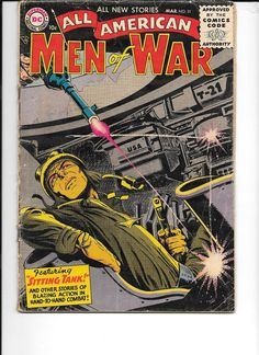 DC COMICS ALL AMERICAN MEN OF WAR #31 (1956) Low Grade
