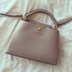 I was tagged by gorgeous @luv_iz_luxury #onebrandtag #ificanonlyhaveonebag at the first thought I would pick Chanel then I changed my mind. Since I love to travel and when I'm travelling, I don't wanna worry too much about my bag. So I go for this LV Capucines BB instead coz this leather I don't need to baby it. Plus it looks so simple yet cute. I can use as a crossbody when travelling & shopping or take the strap off for a party or a night out. Pls join to sharing your if you want