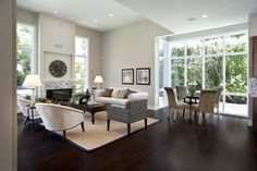 I absolutely love the richness and drama of this Ebony floor!