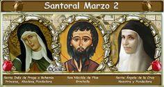 Vidas Santas: Santoral Marzo 2