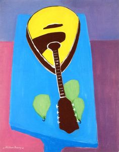 Mandolin with Pears Milton Avery - 1945