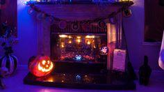 Halloween hearth at the Inn.