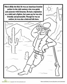 If Your Child Longs To Roam The Western Plains Browse This Collection Of Our Favorite Wild West Worksheets And Coloring Pages For Cowpokes All Ages