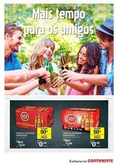 Novo folheto Continente - cervejas - http://parapoupar.com/novo-folheto-continente-cervejas/
