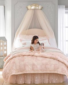 Introducing the @moniquelhuillier & Pottery Barn Kids collection! Inspired by her fashion line (tulle! embroidery!), her family, and the magic of childhood, click the link in our bio to check out the nursery and bedroom collections now. #MLxPBK