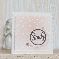 Smile Mini Card by Lucy Abrams | Flickr - Photo Sharing!