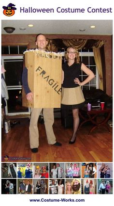 Homemade Costumes for Couples - a lot of homemade costume ideas!