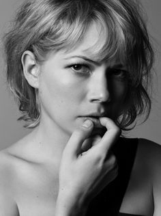 Michelle Williams by Mark Abrahams