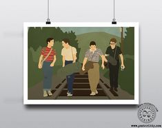 Stand By Me - Minimalist Movie Poster — Posteritty Poloroid Film, Minimal Poster, Off The Wall, Poster On, Stand By Me, All Print, Office Decor, Minimalist, Wall Art