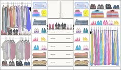Adult Closet Design 3 made with the CCDS FREE On-Line Image Design system