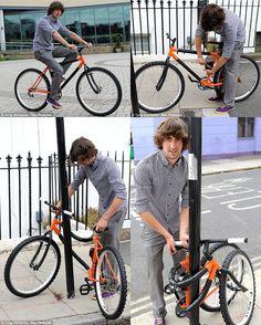 Flexible bicycle, so smart