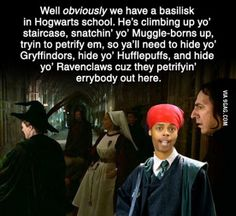 Why does this work so well! What about Slytherin though???