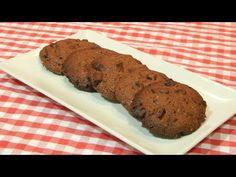 Receta fácil de galletas crujientes de chocolate - YouTube