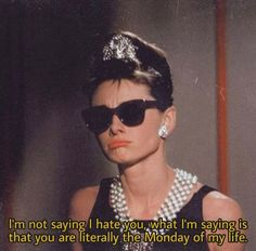 Classic Movie Quotes, Maybe In Another Life, Response Memes, Audrey Hepburn Style, How To Get Abs, Bad Gal, I Hate You, Smiles And Laughs, Quote Aesthetic