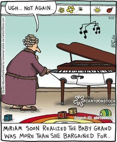 Pianist funny cartoons from CartoonStock directory - the world's largest on-line collection of cartoons and comics. Funny Cartoons, Funny Comics, Music Is Life, My Music, Piano Funny, Funny Images, Funny Pictures, Music Humor, Recital