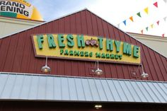 Ways to Save at Fresh Thyme Farmers Market
