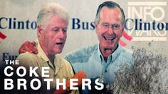 The COKE Brothers! Bush & Clinton Linked Together in Drug Trade